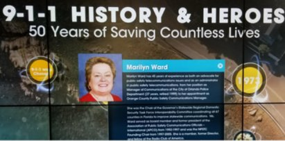 NENA History and Heroes, Marilyn Ward Image