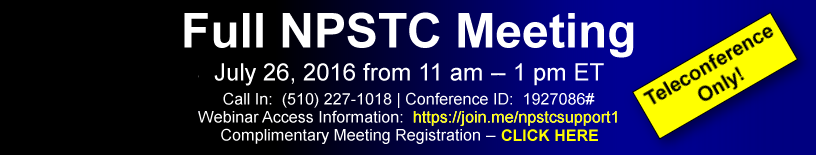 NPSTC Meeting Ad Sept 2016