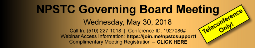 May 2018 NPSTC Meeting Ad